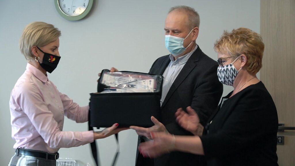 Jaworskie Centrum Medyczne otrzymało aparat do tlenoterapii.
