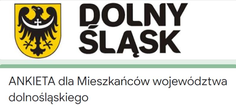 Ankieta nt. Programu Ochrony Środowiska dla Województwa Dolnośląskiego  na lata 2022- 2025 z perspektywą do  roku 2029
